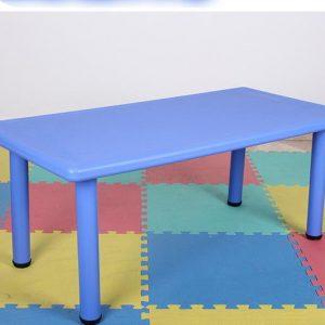 שולחן פלסטיק איכותי צבע כחול