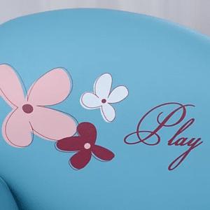 ספה דו מושבית – Play צבע תכלת