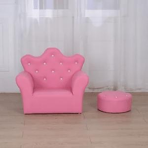 כורסא מעוצבת – דגם נסיכות, כתר ויהלומים